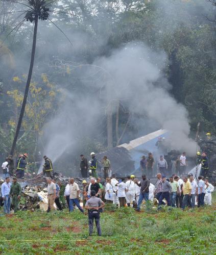 Vụ rơi máy bay tại La Habana: Cuba tuyên bố quốc tang 2 ngày