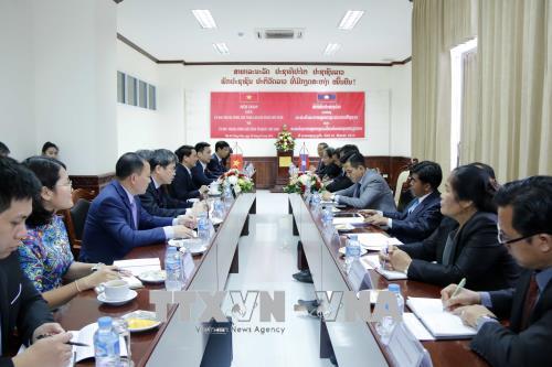 Hợp tác giữa hai Cơ quan Mặt trận Việt Nam và Lào
