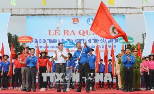 Tuổi trẻ Đắk Lắk chung sức xây dựng nông thôn mới và đô thị văn minh