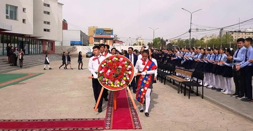 Kỷ niệm 128 năm ngày sinh Chủ tịch Hồ Chí Minh tại Mông Cổ