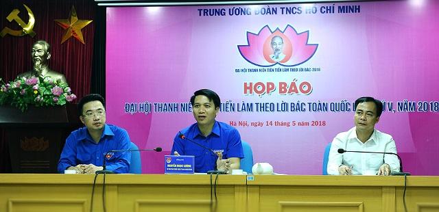 336 đại biểu dự Đại hội Thanh niên tiên tiến làm theo lời Bác lần thứ V