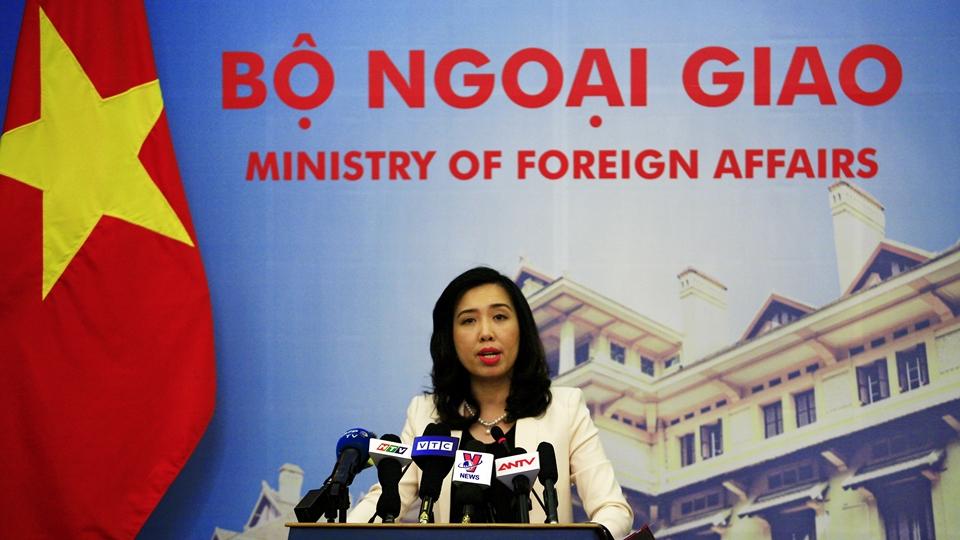 Phản ứng của Việt Nam về việc Trung Quốc tiến hành các hoạt động diễn tập trên quần đảo Hoàng Sa