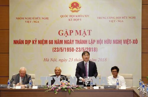 Thúc đẩy quan hệ hợp tác hữu nghị truyền thống Việt Nam - Liên bang Nga