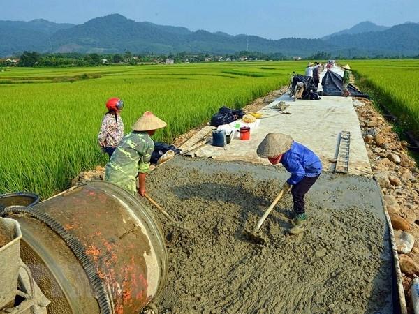 Thay đổi nhanh nhờ xây dựng nông thôn mới