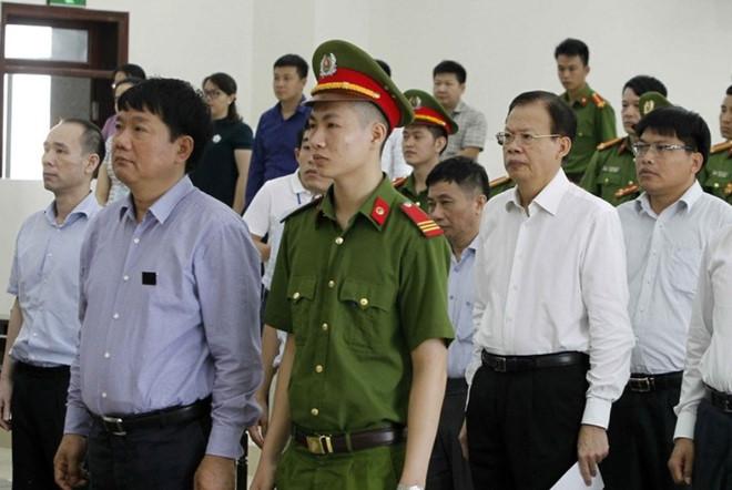 Y án sơ thẩm 13 năm tù với bị cáo Đinh La Thăng