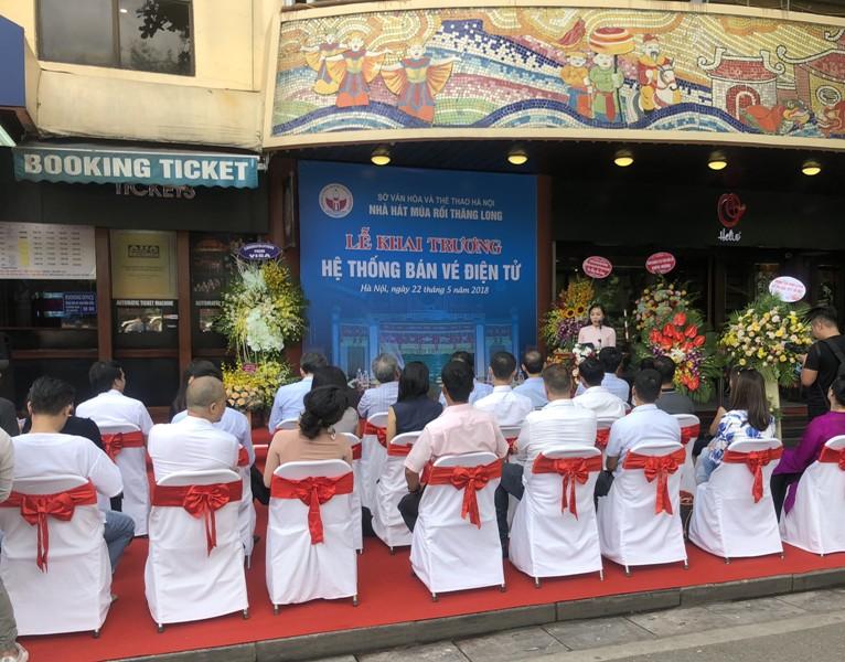 Nhà hát múa rối Thăng Long khai trương hệ thống bán vé điện tử