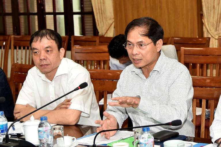 Họp Ban Tổ chức Hội nghị Diễn đàn Kinh tế thế giới về ASEAN năm 2018