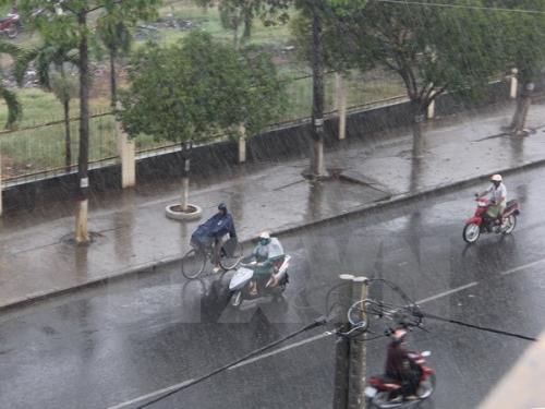 Bắc Bộ và các tỉnh từ Thanh Hóa đến Nghệ An có mưa vừa, có nơi mưa to đến rất to
