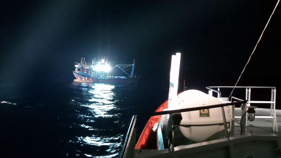 Đà Nẵng: Cứu sống thuyền viên bị bệnh nguy kịch ở vùng biển Hoàng Sa