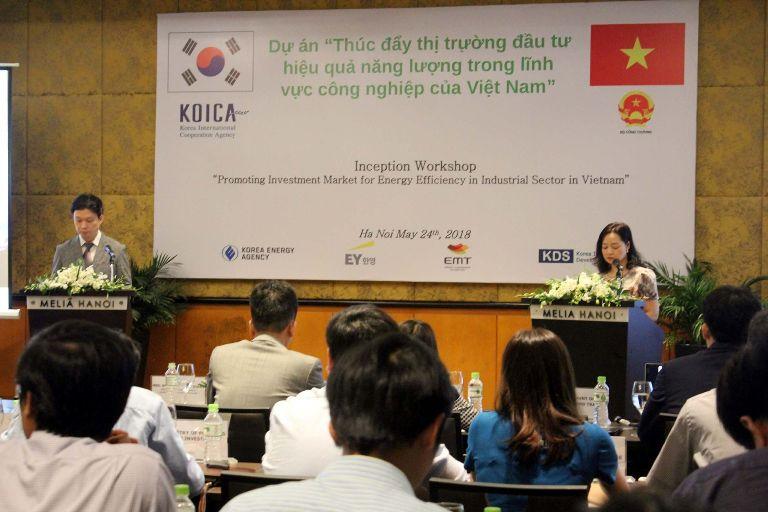 """Khởi động Dự án """"Tiết kiệm năng lượng trong ngành công nghiệp Việt Nam"""""""