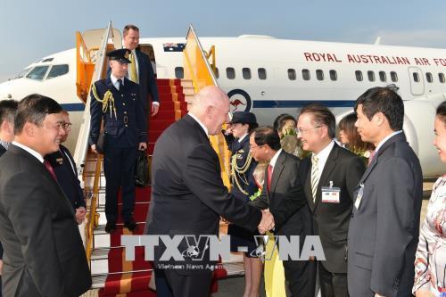 Toàn quyền Australia và Phu nhân bắt đầu thăm cấp Nhà nước tới Việt Nam