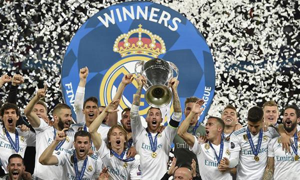 Real Madrid lần thứ 3 liên tiếp giành Champions League