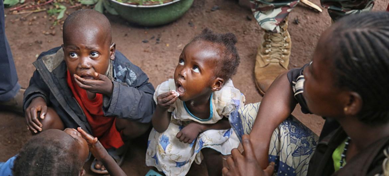 UNICEF kêu gọi tiếp tục hỗ trợ trẻ em Trung Phi