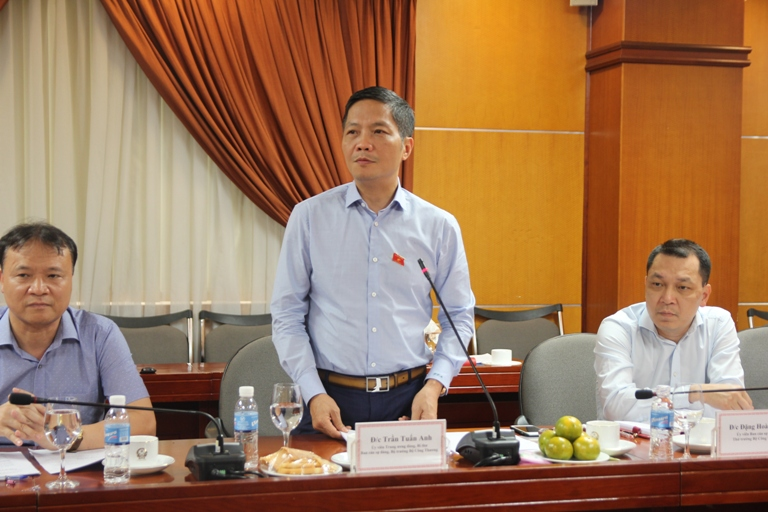 Kiểm tra việc triển khai các Nghị quyết của Trung ương tại Bộ Công Thương