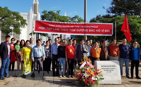 Cộng đồng người Việt Nam tại Mozambique kỷ niệm ngày sinh nhật Bác