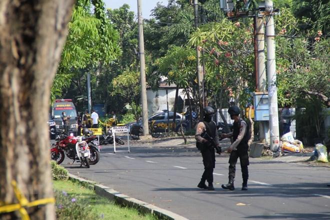 Indonesia: Vụ nổ ở trụ sở cảnh sát tại Đông Java là đánh bom liều chết