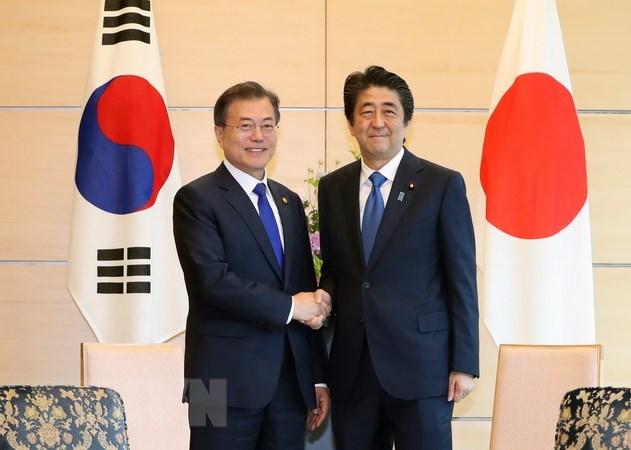 Lãnh đạo Hàn - Nhật kêu gọi những nỗ lực chung cho tiến trình phi hạt nhân hóa Bán đảo Triều Tiên