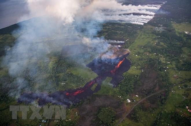 Núi lửa Kilauea đe dọa nhà máy điện địa nhiệt tại Hawaii