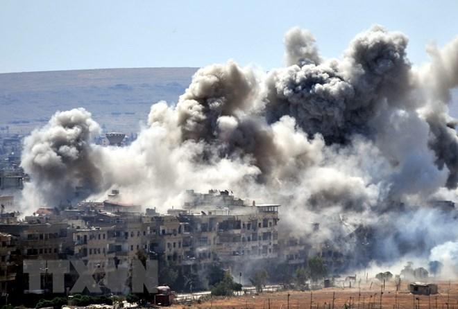 Không kích tại Đông Bắc Syria, hơn 20 dân thường thiệt mạng