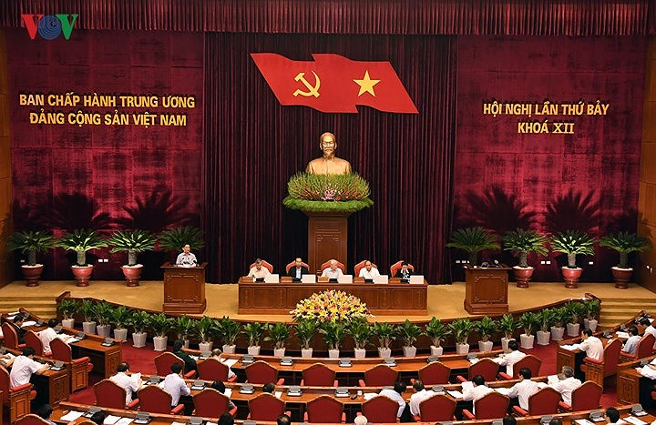 Ngày làm việc thứ năm của Hội nghị lần thứ bảy Ban Chấp hành Trung ương Đảng khoá XII