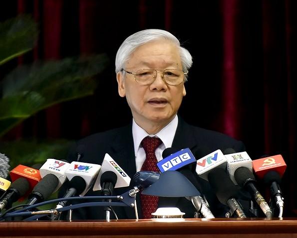 Toàn văn phát biểu của Tổng Bí thư khai mạc Hội nghị Trung ương 7 khóa XII