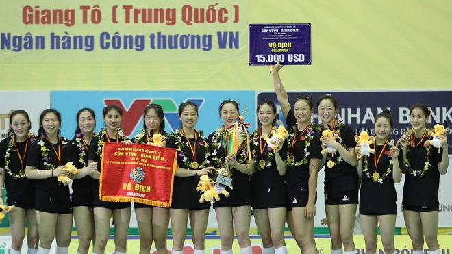 Giải Bóng chuyền nữ quốc tế Cúp VTV9 Bình Điền lần thứ XII năm 2018