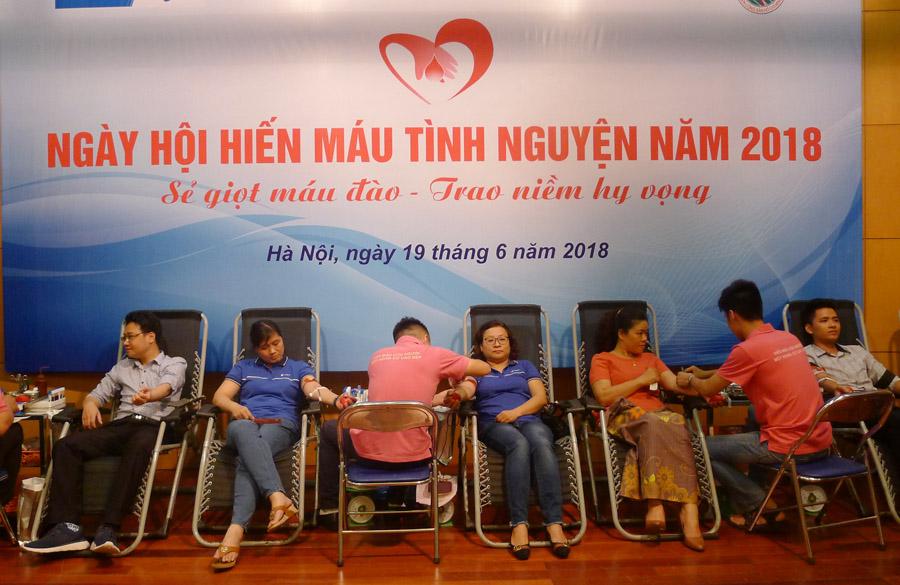 Ngày hội hiến máu tình nguyện của tuổi trẻ VNPT