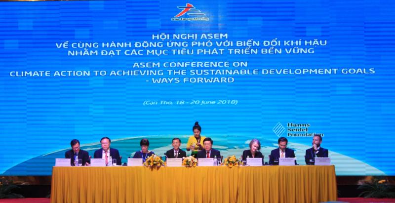 ASEM cùng hành động ứng phó biến đổi khí hậu nhằm đạt các mục tiêu phát triển bền vững