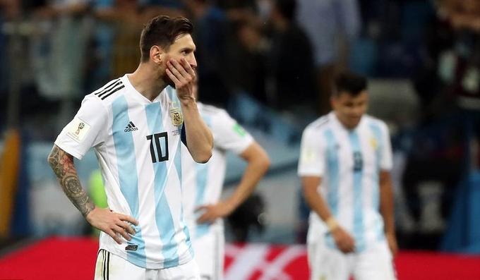 Argentina nhận thất bại lịch sử trước Croatia