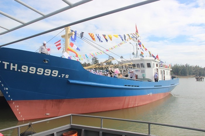 Hơn 16 tỷ đồng hỗ trợ khai thác hải sản trên các vùng biển xa