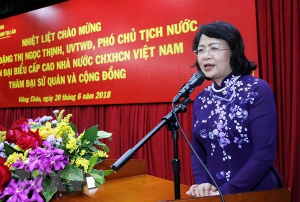Tạo mọi điều kiện cho cộng đồng người Việt Nam sinh sống, học tập và làm việc tại Bắc Lào
