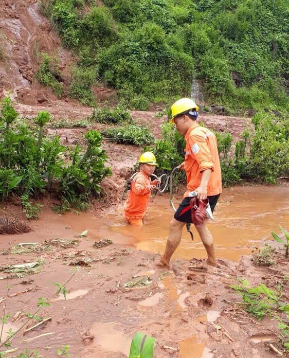 Nỗ lực khắc phục sự cố do mưa lũ tại các tỉnh miền núi phía Bắc