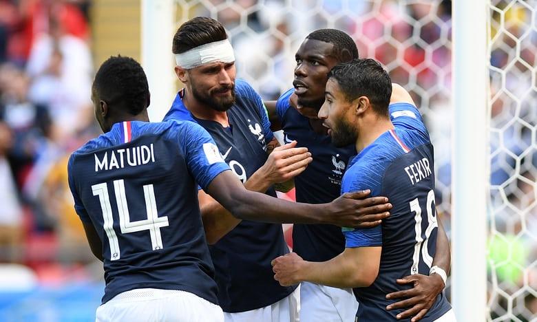 Pháp giành 3 điểm đầu tiên tại World Cup 2018