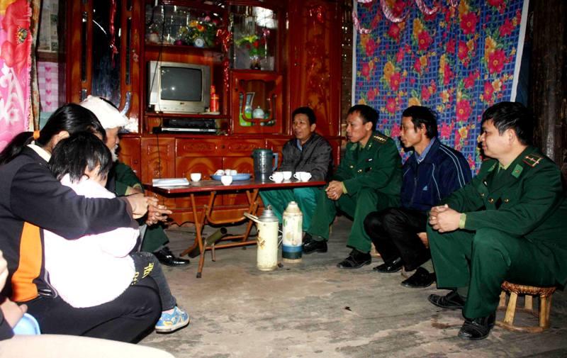 Bộ đội Biên phòng Lào Cai tích cực xây dựng hệ thống chính trị cơ sở vùng biên