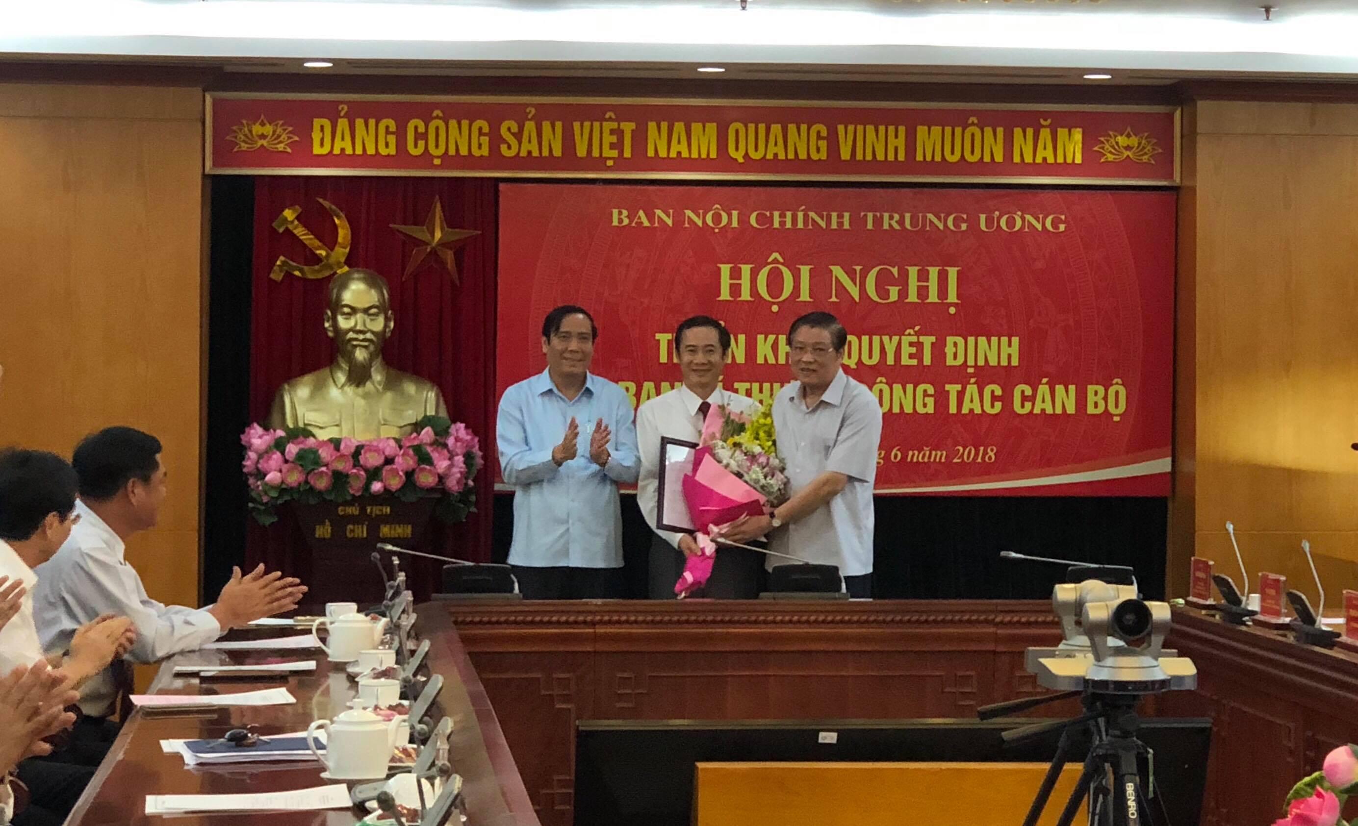 Bổ nhiệm đồng chí Nguyễn Thái Học giữ chức Phó Trưởng ban Nội chính Trung ương