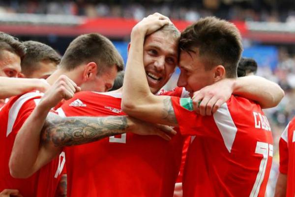 Nga khởi đầu hoàn hảo tại World Cup 2018
