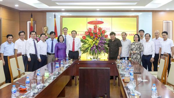 Chủ tịch Ủy ban Trung ương MTTQ Việt Nam chúc mừng các cơ quan báo chí