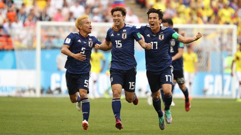 Hạ Colombia, Nhật Bản gây sốc tại World Cup 2018