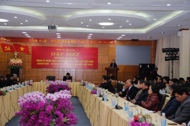 Lào Cai triển khai Giải báo chí về xây dựng Đảng lần thứ 3 năm 2018