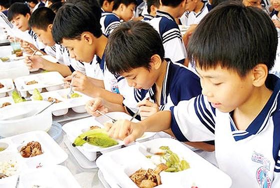 TP.Hồ Chí Minh phấn đấu đến năm 2020, các trường học bảo đảm 100% nguồn thực phẩm đạt chuẩn