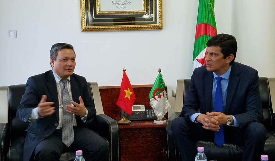 Tăng cường hợp tác kinh tế - thương mại giữa Việt Nam và Algeria