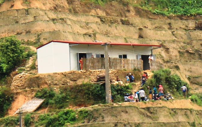 Trao tặng điểm trường đặc biệt khó khăn cho huyện Hoàng Su Phì