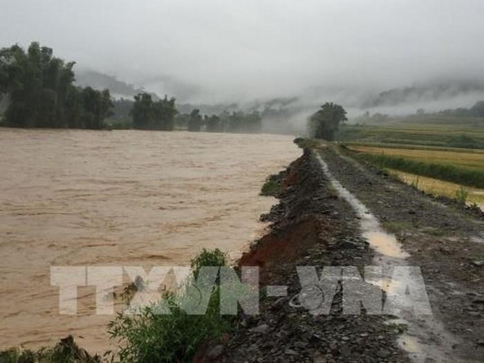 Mưa lũ gây thiệt hại nặng nề tại các tỉnh Hà Giang, Lai Châu và Bắc Kạn