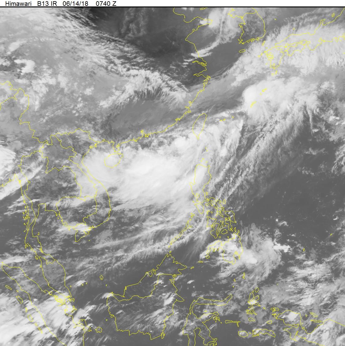 Thông báo khẩn cấp về ứng phó với áp thấp nhiệt đới trên biển Đông