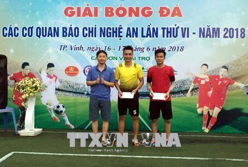 Giải bóng đá các cơ quan báo chí tỉnh Nghệ An lần thứ VI