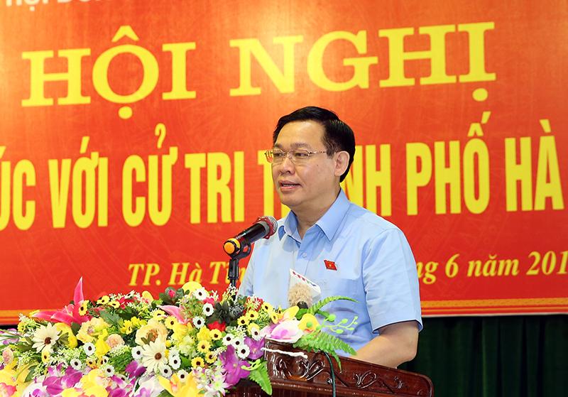 Quốc hội biểu dương tinh thần yêu nước của nhân dân đến các vấn đề quan trọng của đất nước