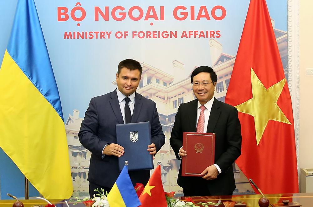 Thúc đẩy hơn nữa quan hệ  Việt Nam - U-crai-na