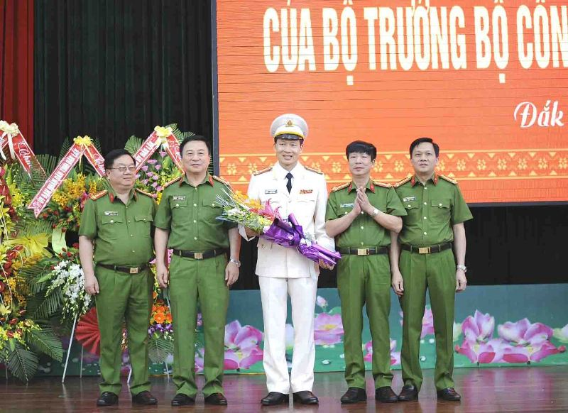 Bổ nhiệm Giám đốc Công an tỉnh Đắk Lắk