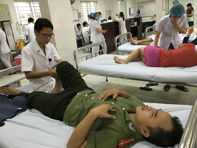 Phân tuyến, chuyển tuyến khám chữa bệnh BHYT đối với cán bộ, chiến sĩ công an