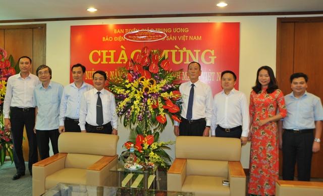 Phó Chủ tịch, Tổng thư ký Ủy ban Trung ương MTTQ Việt Nam chúc mừng Báo điện tử Đảng Cộng sản Việt Nam
